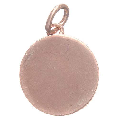 Medalla plata 800 San Antonio de Padua 1,7 cm 2