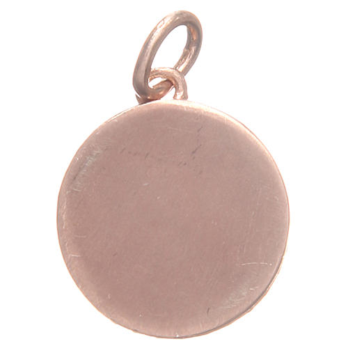 Médaille laiton St Antoine de Padoue 1,7 cm 2
