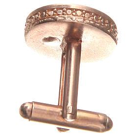 Mancuernillas de pulsera plata 800 Virgen Milagrosa 1,7 cm s2