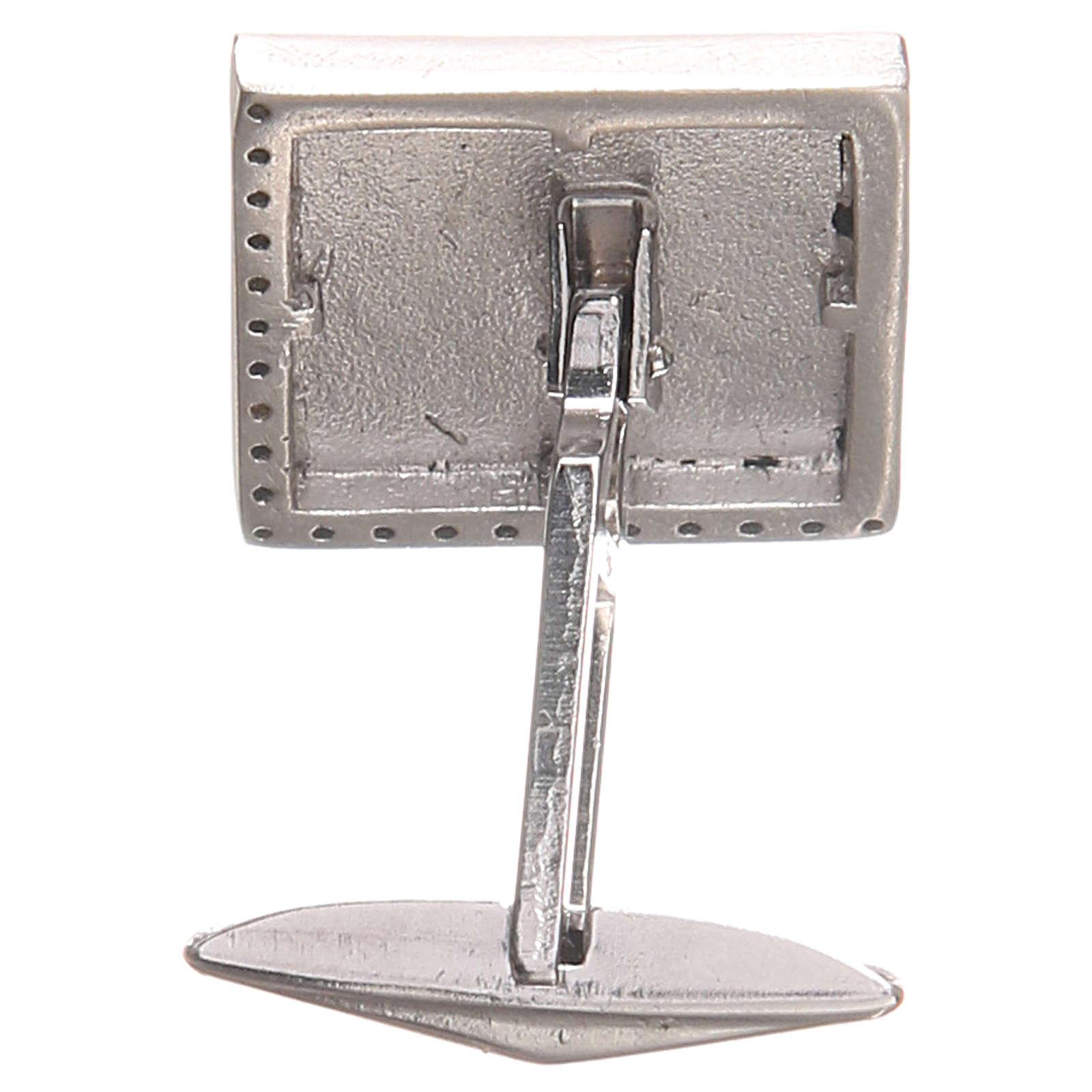 Cross cufflinks in 800 Silver 4