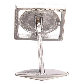 Gemelli gioielli argento 925 Simbolo XP 1,7x1,7 cm s2