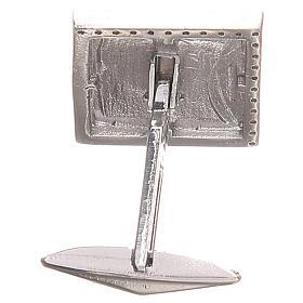 Boutons manchettes bijoux arg 800 Agnus Dei 1,7x1,7 cm s2