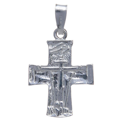 Croce Redentoristi Argento 800 cm 2x1,5 1