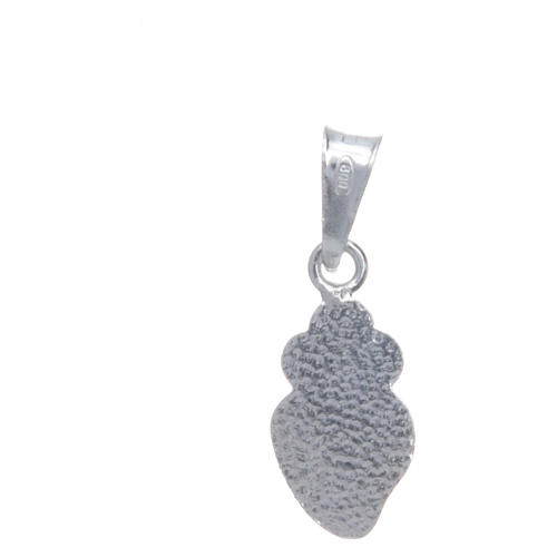 Passionists heart in 925 silver h1.5cm 2
