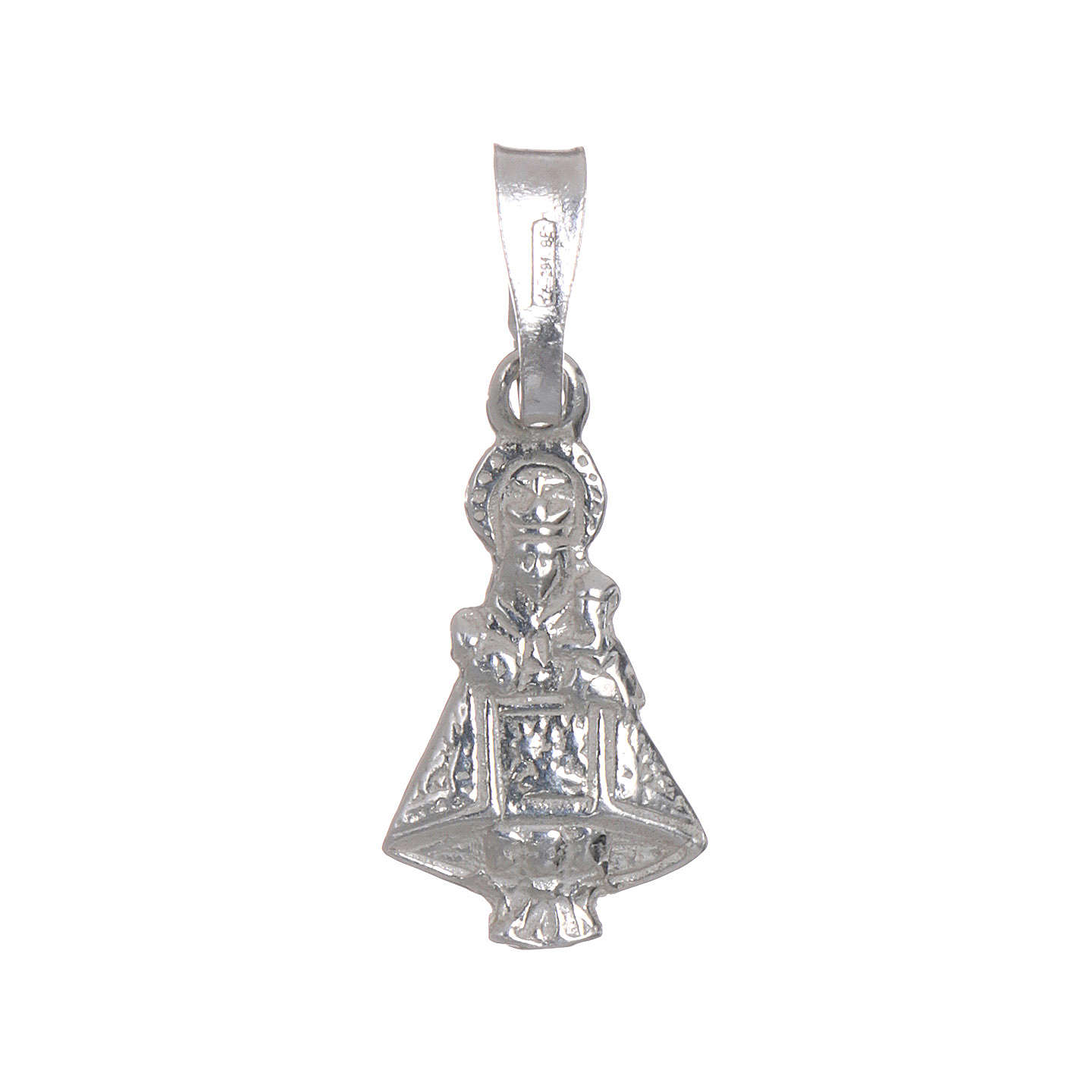 Our Lady of Covadonga pendant in 925 silver h1.5cm 4