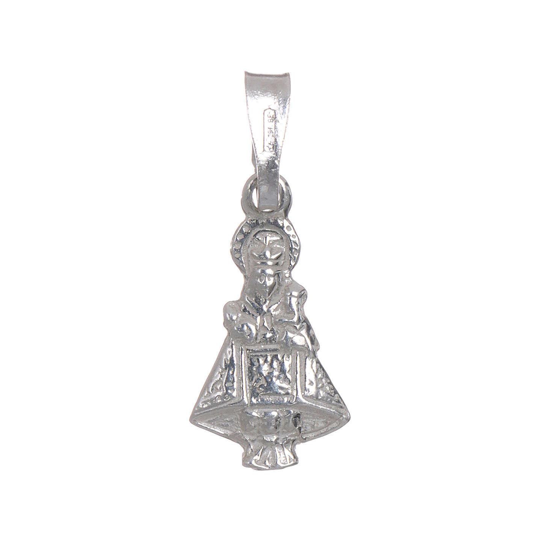 Virgen Covadonga Plata 925 h. 1,5 cm 4