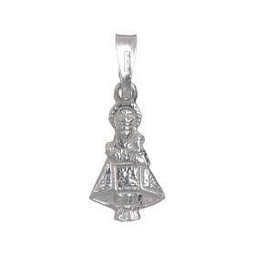 Vierge de Covadonga argent 925 h 1,5 cm s1