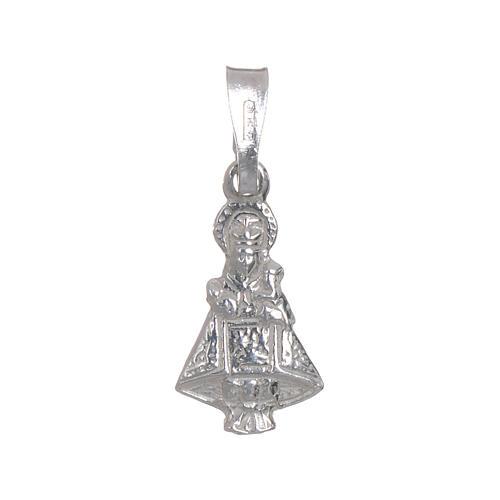 Vierge de Covadonga argent 925 h 1,5 cm 1