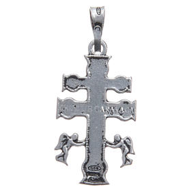 Pendant with Caravaca cross in 925 silver s2