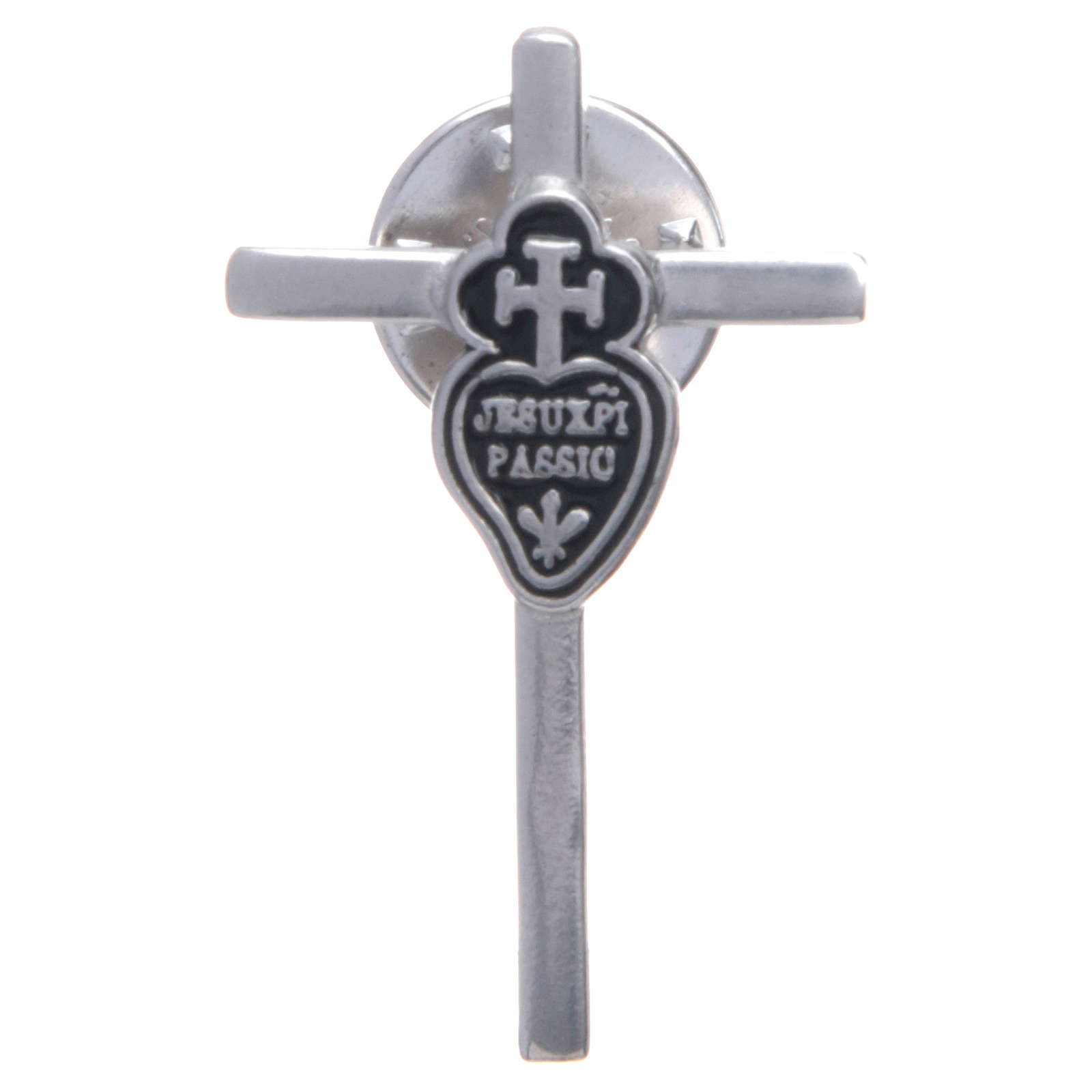 Passionist lapel pin in 925 silver 4