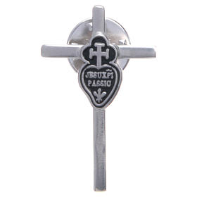 Passionist lapel pin in 925 silver s1