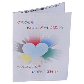 Spilla croce dell'amicizia Argento 800 s4