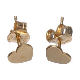Ohrringe AMEN Herz rodinierten Silber 925 s2