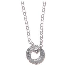 Ciondolo rosario nero argento 925 s1