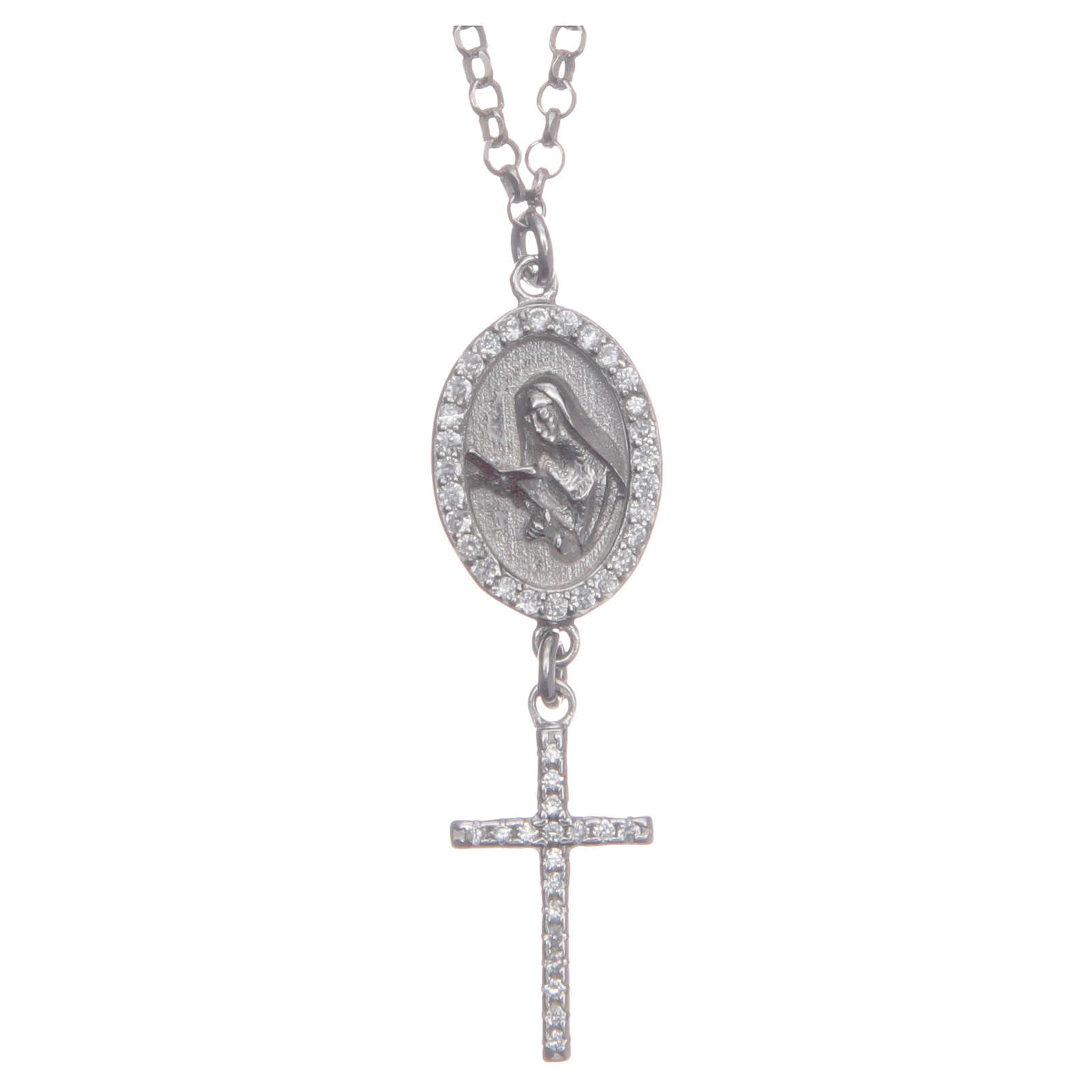 Collier argento 925 Santa Rita 4