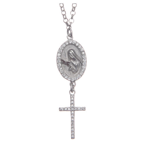 Collier argento 925 Santa Rita 1