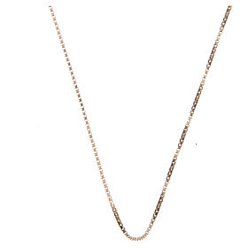 Venetian chain in 925 sterling silver finished in gold, 60 cm length s1
