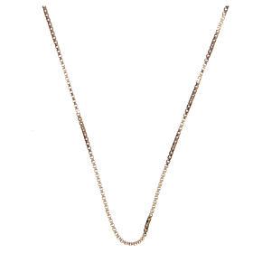 Pingentes, Cruzes, Broches, Correntes: Corrente veneziana prata 925 dourada comprimento 50 cm
