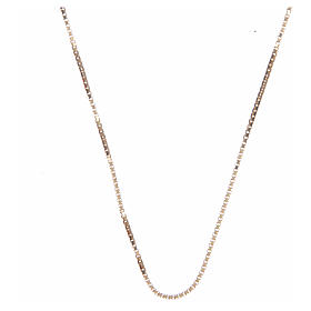 Venetian chain in 925 sterling silver finished in gold 65 cm s1