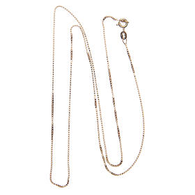 Venetian chain in 925 sterling silver finished in gold 65 cm s2