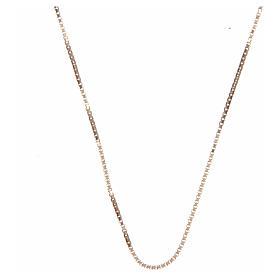 Cadena véneta plata 925 dorada 65 cm s1