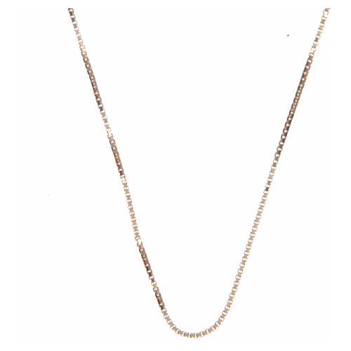 Cadena véneta plata 925 dorada 65 cm 1