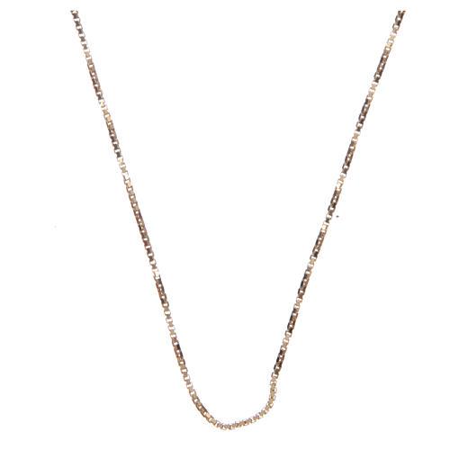 Catena veneta argento 925 dorato 70 cm 1