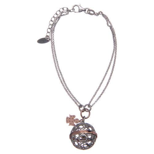 Angel caller ball AMEN bracelet pink silver 925 2