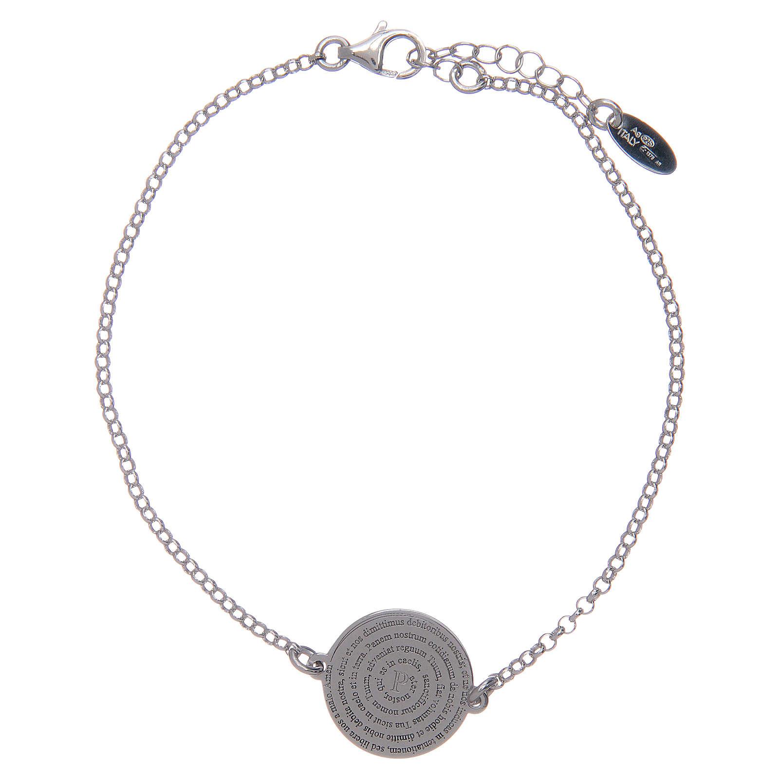 Amen-Armband Silber 925 lateinisch Vaterunser 4