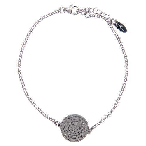 Amen-Armband Silber 925 lateinisch Vaterunser 1