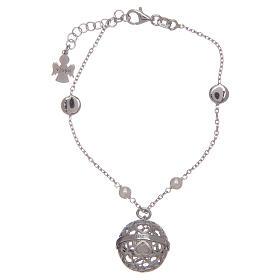 AMEN bracelets: Angel caller ball AMEN bracelet 925 silver