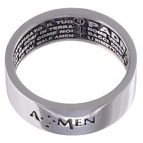 Ring AMEN Silber 925 Vater Unser Innenseite s2