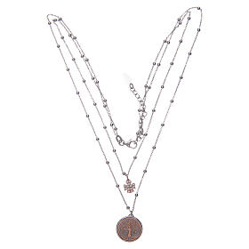 Amen choker with Tree of Life pendant in 925 sterling silver s3