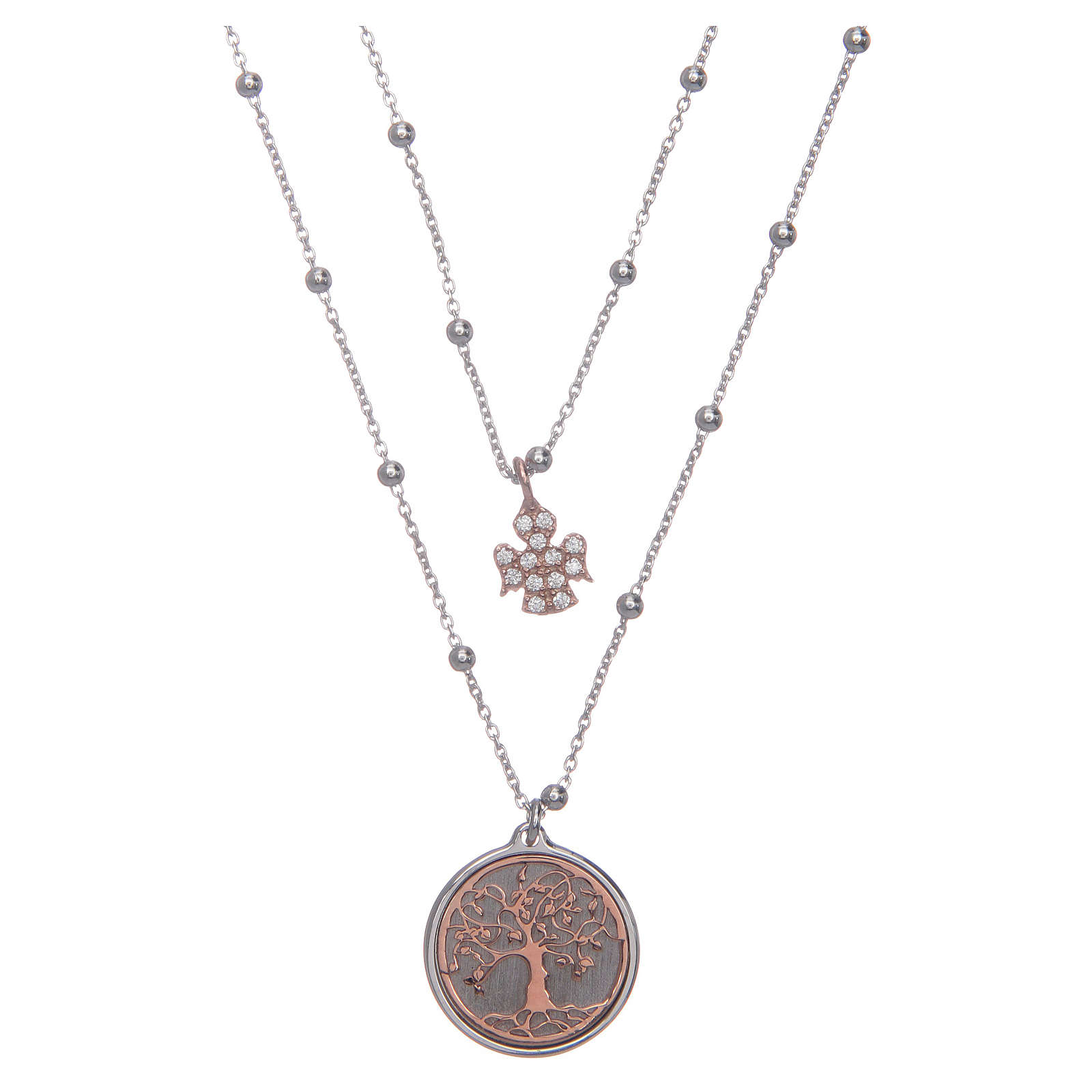 Collana Amen Albero della Vita Argento 925 girocollo 4
