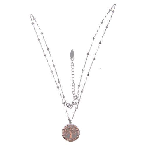 Collana Amen Argento pendente Albero della Vita 3