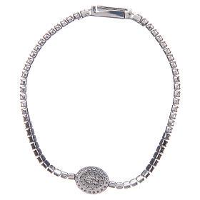 Miraculous medal tennis bracelet, Amen s2