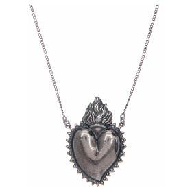 Girocollo cuore votivo argento 925 cm 2 s1