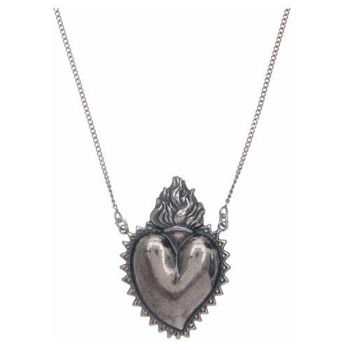 Girocollo cuore votivo argento 925 cm 2 1