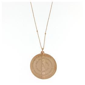 Collier Amen Coelis Ange de Dieu argent rosé s1