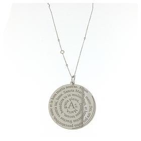 Collier Amen argent 925 Coelis Ave Maria s1