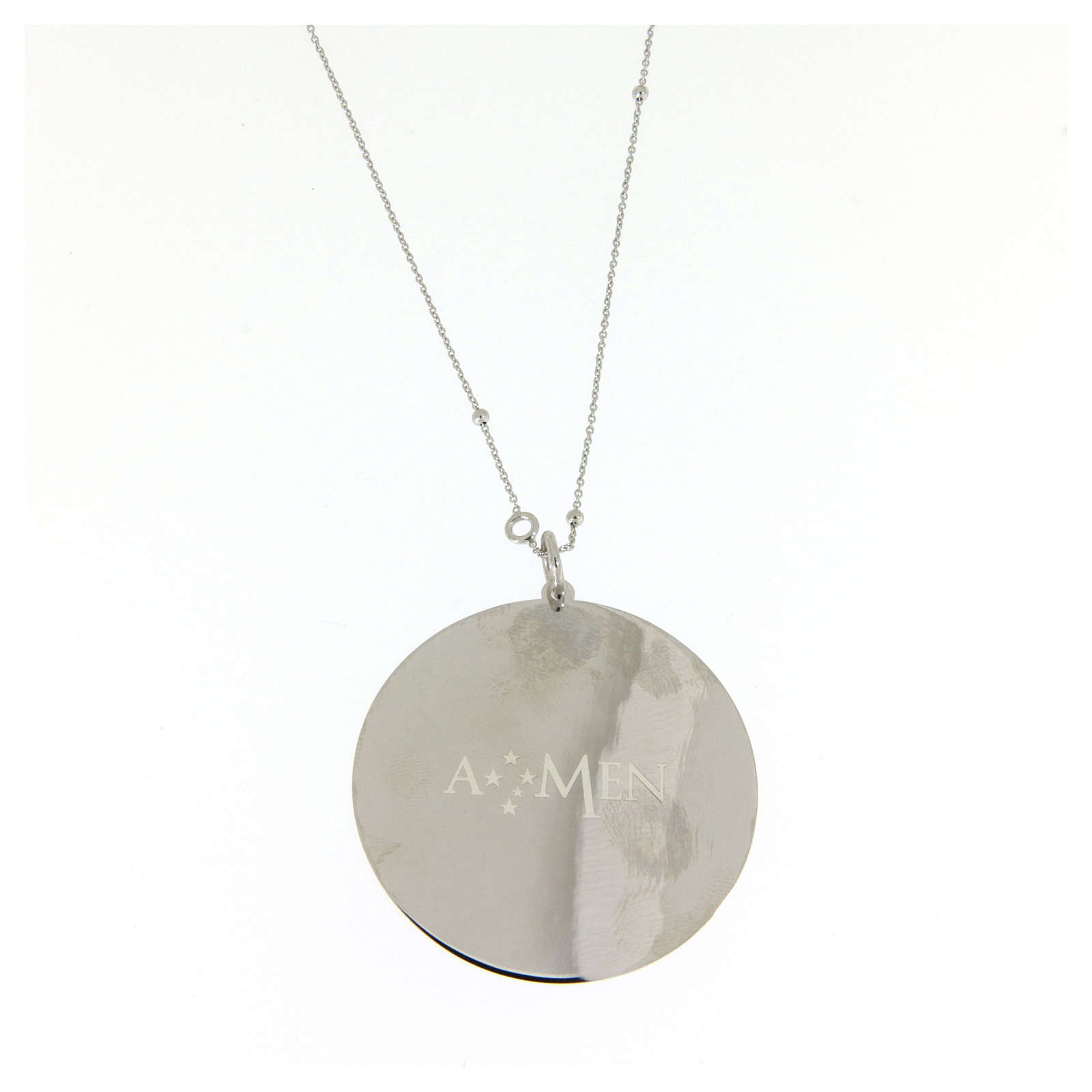 Amen necklace Our Father in 925 sterling silver 4