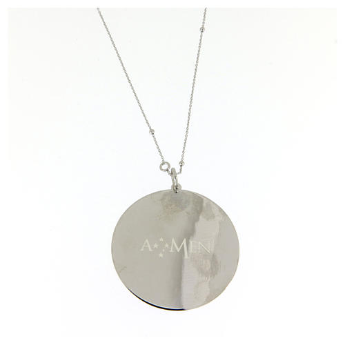 Amen necklace Our Father in 925 sterling silver 2