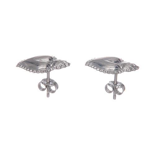 Lobe votive earrings in 925 sterling silver 5