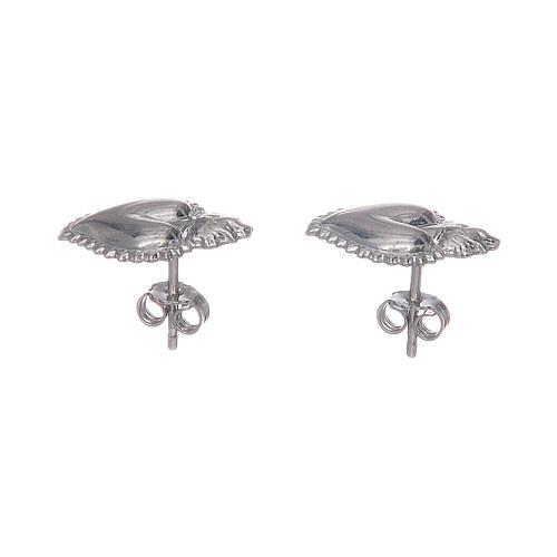 Lobe votive earrings in 925 sterling silver 2