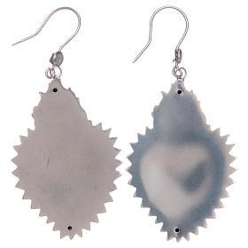 Pendientes corazón exvoto en plata 925 s2