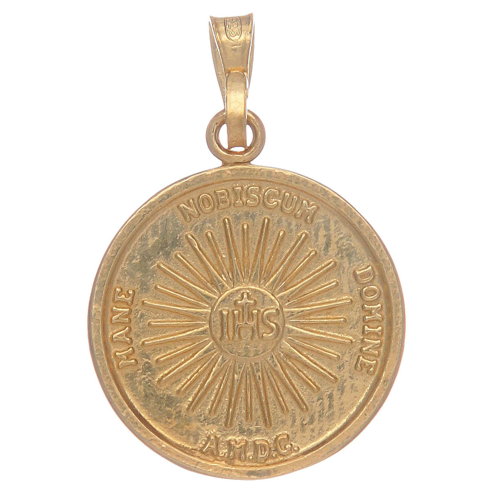 Medaglia Sacra Sindone in argento 925 4