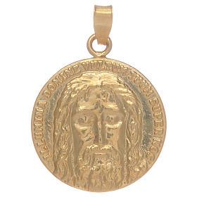 Medaglia Sacra Sindone in argento 925 s1