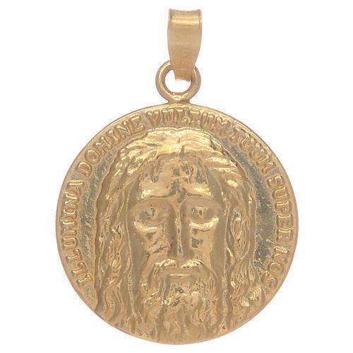 Medaglia Sacra Sindone in argento 925 1