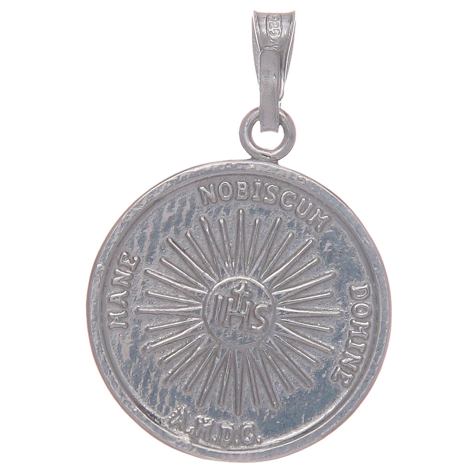 Medalla plata 925 Santo Sudario 4