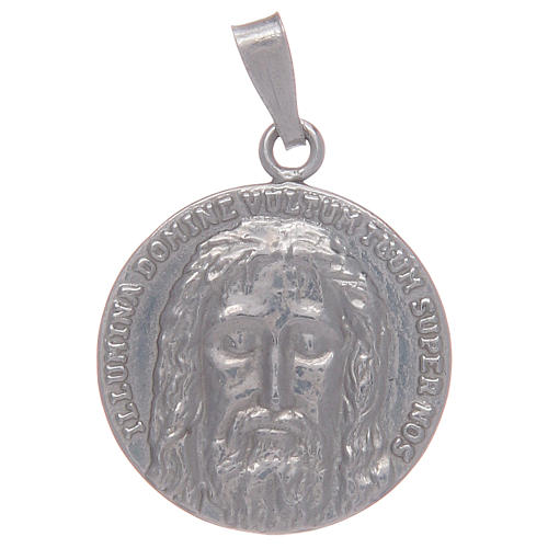 Medalla plata 925 Santo Sudario 1